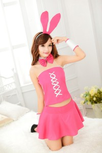 Pink Bunny Dress Costume