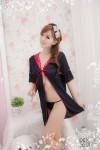 Black-Red Sexy Robe