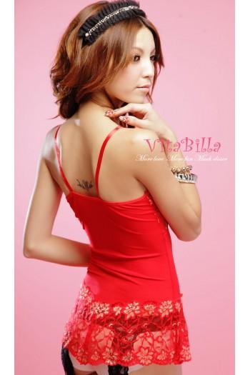 [VitaBilla] Red Hot Sexy Lingerie