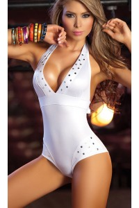 Sexy Pieces Sexy Lingerie S68866-WH