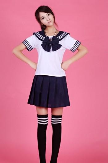 Sexy Japan Student Uniform Short