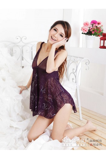 Flower Intimate Sexy Lingerie M8660-PU
