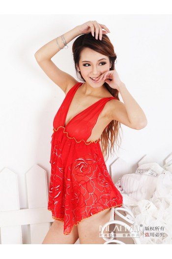 Flower Intimate Sexy Lingerie M8660-RE