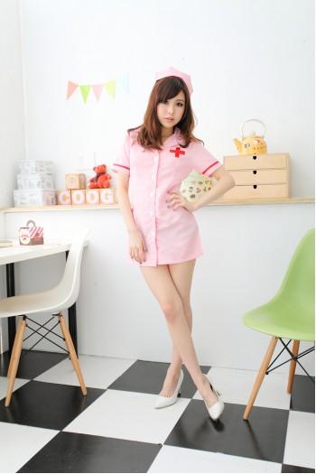 Nurse Costume 5 Pink