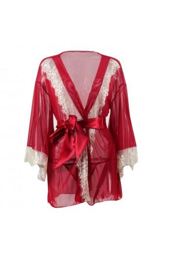 Sexy Lingerie Robe FL16016-RE