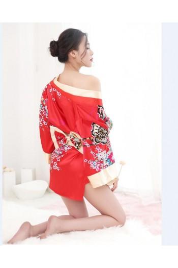 Japanese Kimono Style- Red