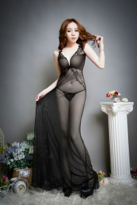 Sexy Lingerie Long Dress FL16015