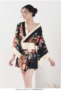 Japanese Kimono Style- Black