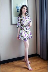 Lingerie Nightwear Robe-TD355
