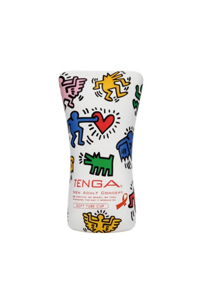 Soft Tube Cup (Keith Haring )