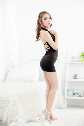 Back Line Sexy Dress