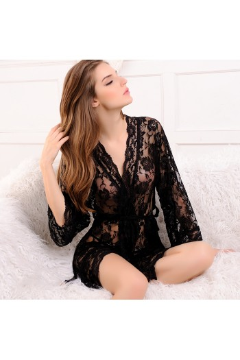 Sexy Lace Robe