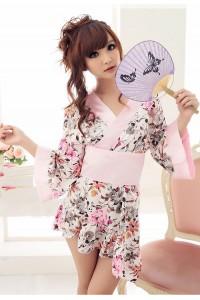 Japanese Kimono Style Gown 4