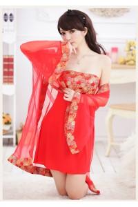 Concubine Sexy Lingerie Robe