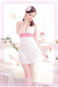 White Slik Sleepwear