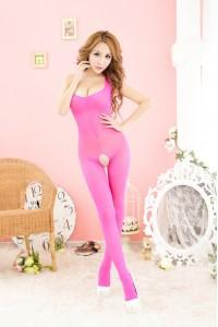 Full Body Fishnet Stocking FL312-Pink